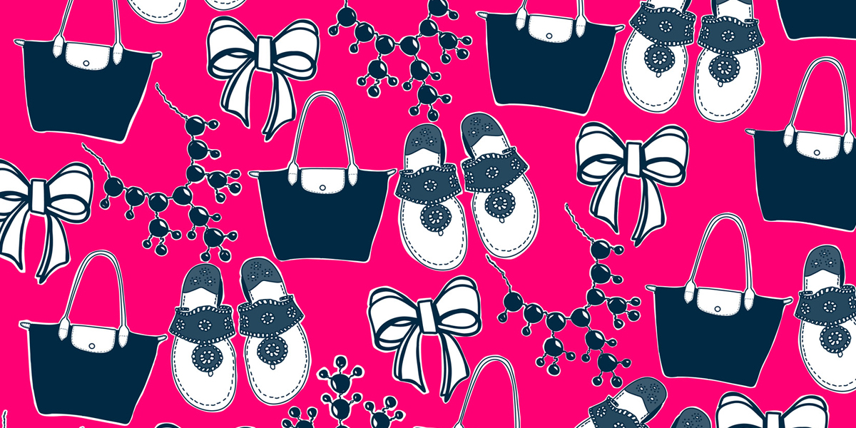 Preppy Wallpaper for Desktop, iPhone, iPad, Twitter, and FB - Carly the Prepster