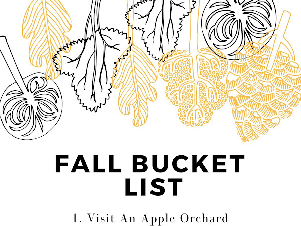 Autumn Bucket List 2018