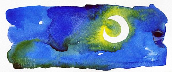 aliciasivert alicia sivertsson börja måla akvarell målarfärg skapa skapande kreativitet monthly makers färg akvarellfärg vattenfärg maskeringstejp maskeringstape reservation reservera yta raka kanter skarpa linjer
