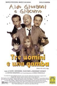 Poster Three Men and a Leg