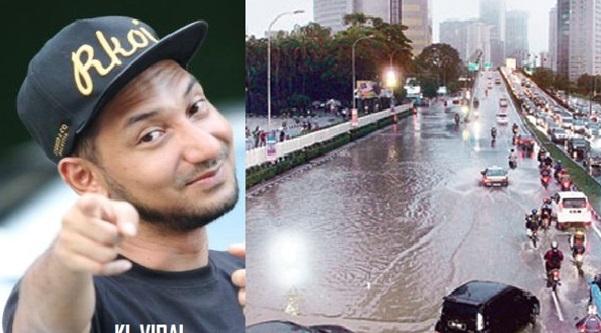 Semua Orang Tak Berani Redah Banjir Tapi Bila Zizan Razak Redah Semua Ikut Belakang Sekali.