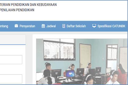 Cara Login UNBK 2019 di website https://ubk.kemdikbud.go.id/