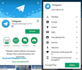 Download dan Install Aplikasi Telegram