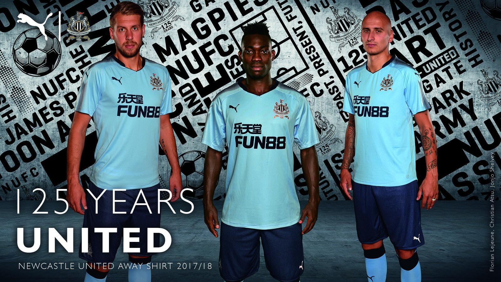 Newcastle United: Newcastle United 17-18 Away Kit Revealed