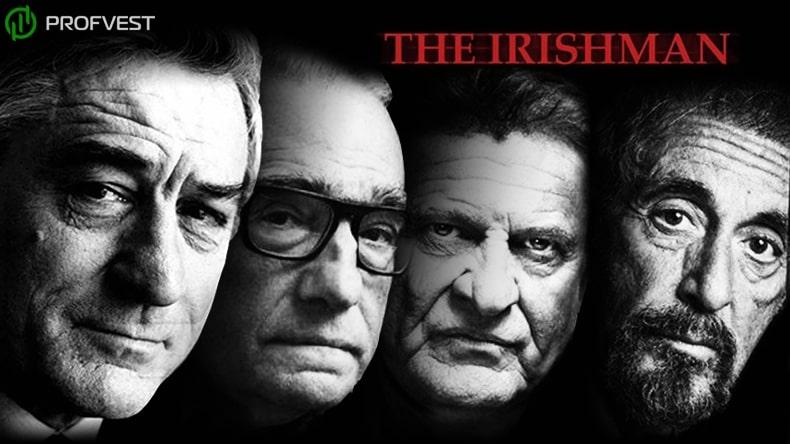 «Ирландец» Мартина Скорсезе — главный проект Netflix 2019 года с Робертом Де Ниро и Аль Пачино в главных ролях