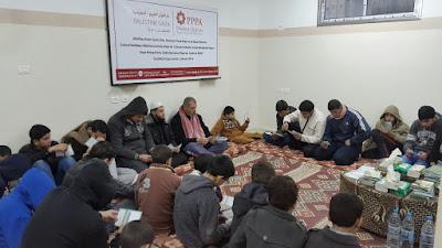 inilah kegiatan rutin pemuda gaza palestina setiap subuh