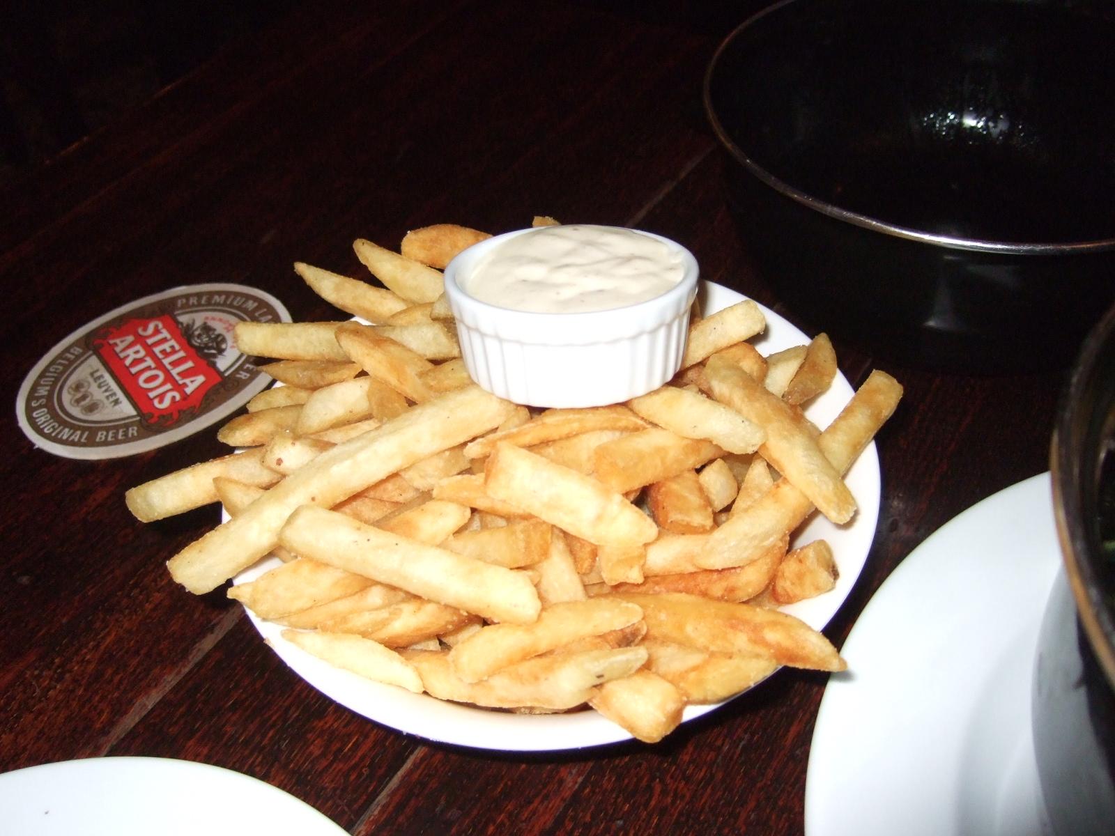 ポテト,The Occidental Belgian Cafe,NZ〈著作権フリー無料画像〉Free Stock Photos