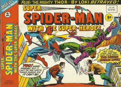 Super Spider-Man with the Super-Heroes #185, The Green Goblin