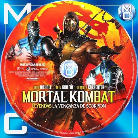 Mortal Kombat Legends Scorpion S Revenge 2020 Dvd Cover