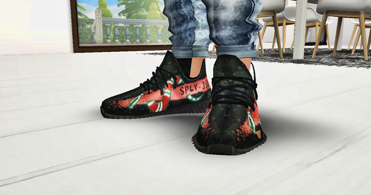 The Black Simmer: Male Shoe Pack by DiversedKing