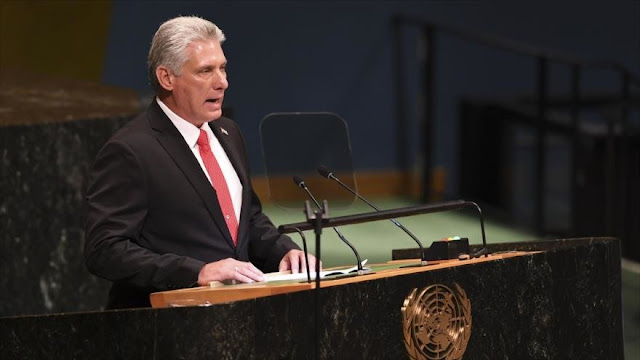 """Cuba pide el fin del """"genocida y aberrante"""" bloqueo de EEUU"""