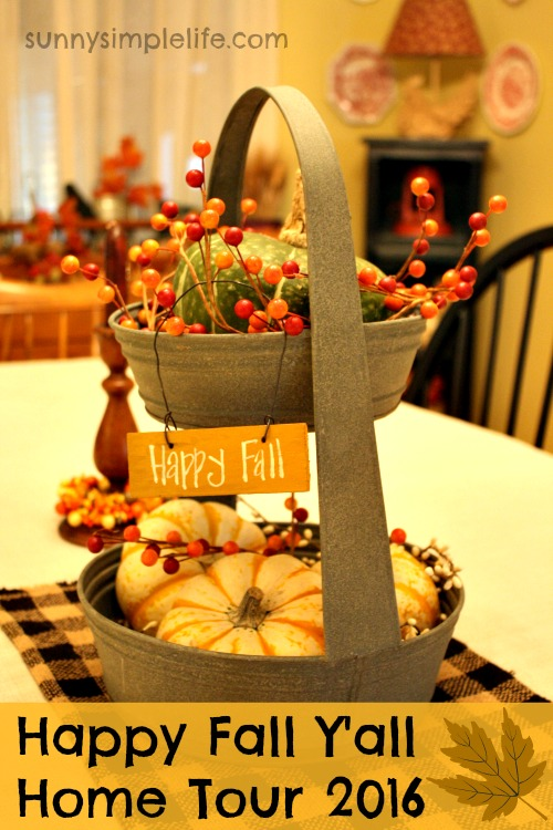 autumn decor, dining table centerpiece