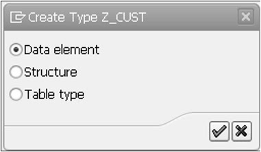 SAP ABAP - Data Elements