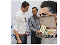 Tak Banyak yang Tahu Ternyata Ronaldo Hafal Surat di Al-Quran, Bukti CR7 Kagumi Islam