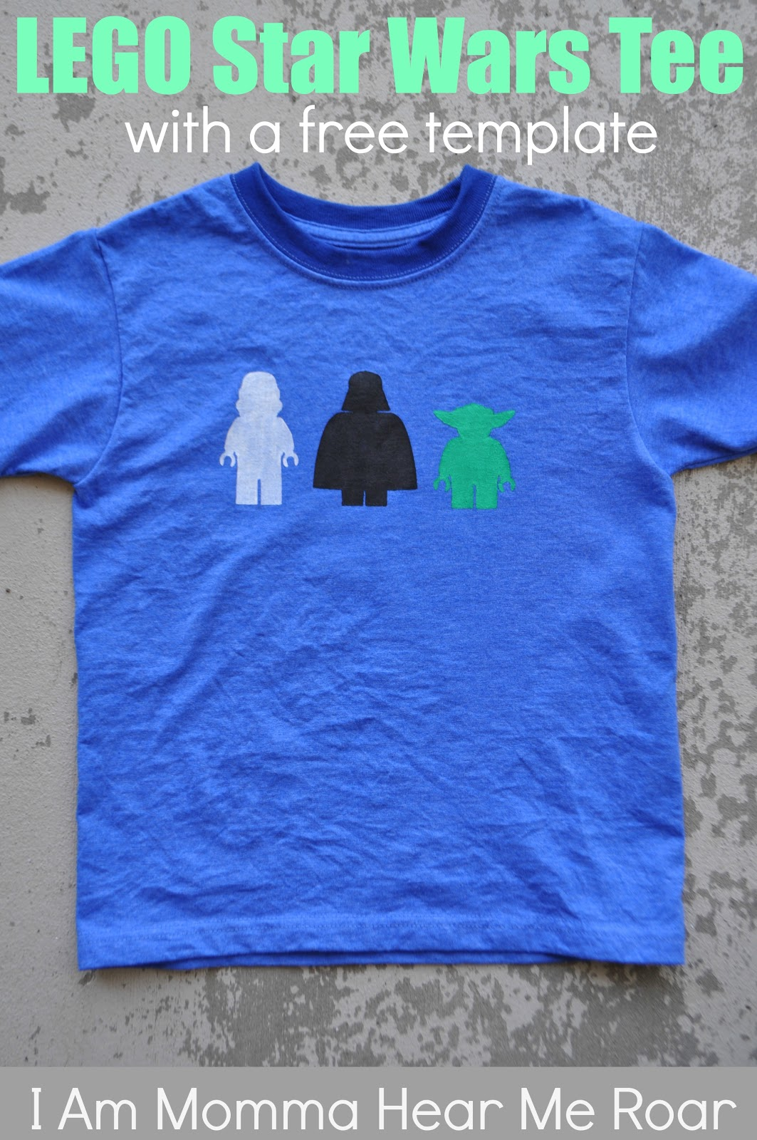 I Am Momma - Hear Me Roar: Lego Star Wars Tee (with a free ...