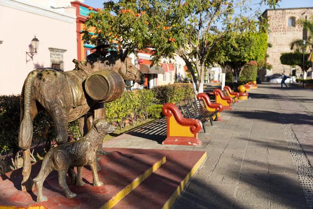 La ville historique de Tequila, Jalisco, au Mexique, à environ 60 km de Guadalajara.