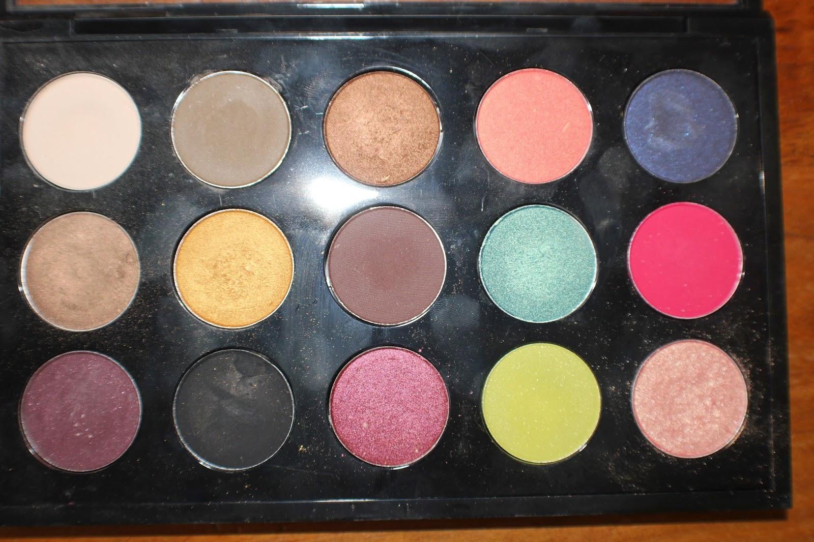 palette fard a paupieres mac