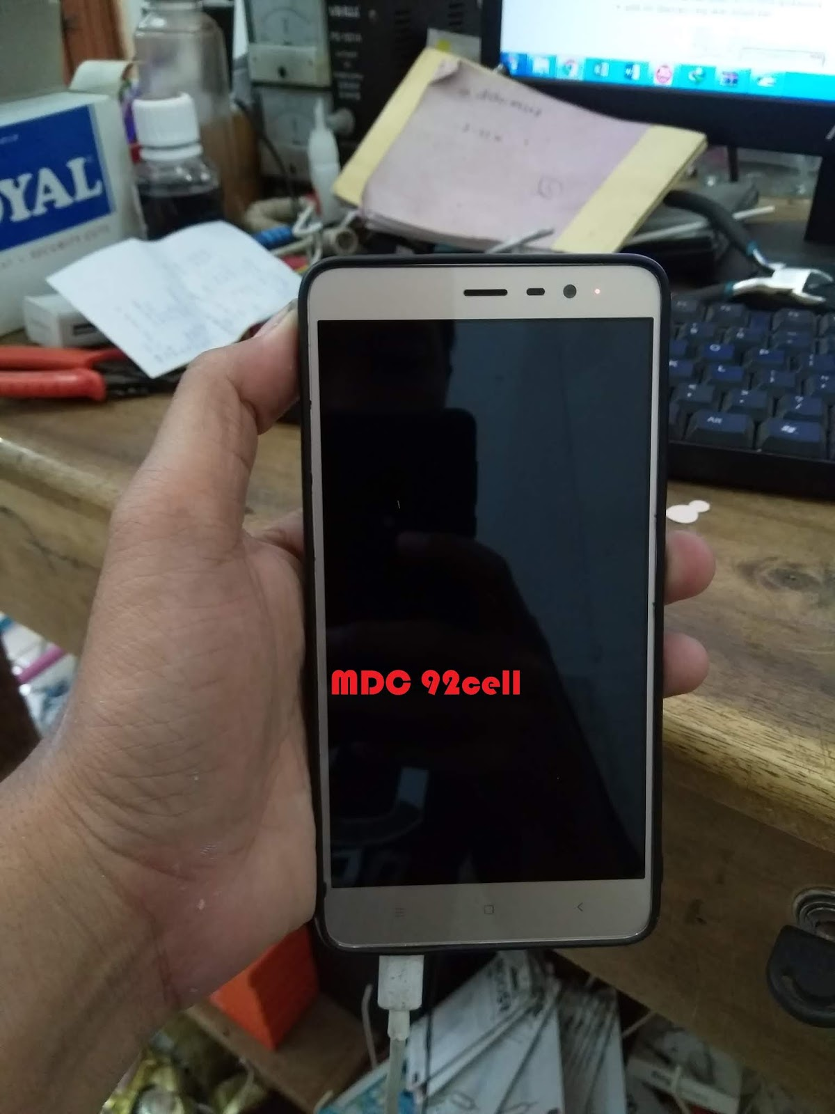 Flash Xiaomi redmi note 3 pro kenzo bootloop lupa pola/pin hilang 4g