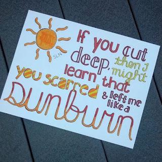 Ed Sheeran Lyrics - Sunburn