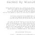Deface, Teknik Mencorat-coret Website