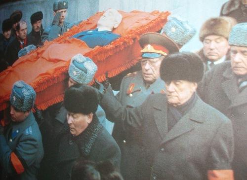 Похороны генсека КПСС Юрия Андропова