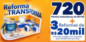 Cadastrar Promoção Casa Show 2017 Reforma Que Transforma