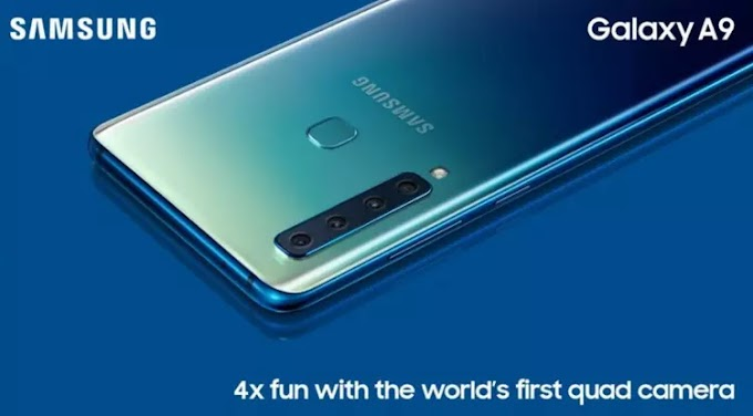 Samsung Galaxy A9: World's first quadruple rear-camera