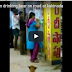 Indian Woman drinking beer on road Dont Miss Video