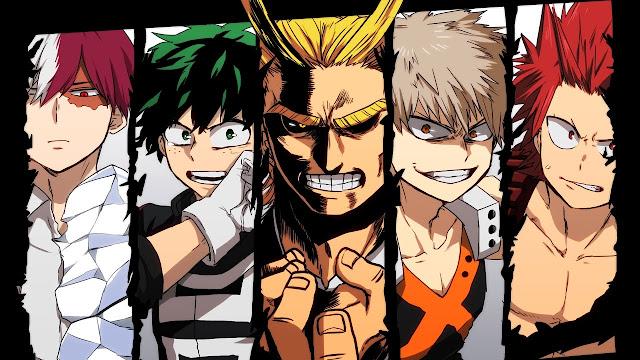 Boku no Hero Academia tendrá película en el verano de 2018