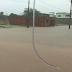 Forte chuva alaga avenida em Várzea do Poço