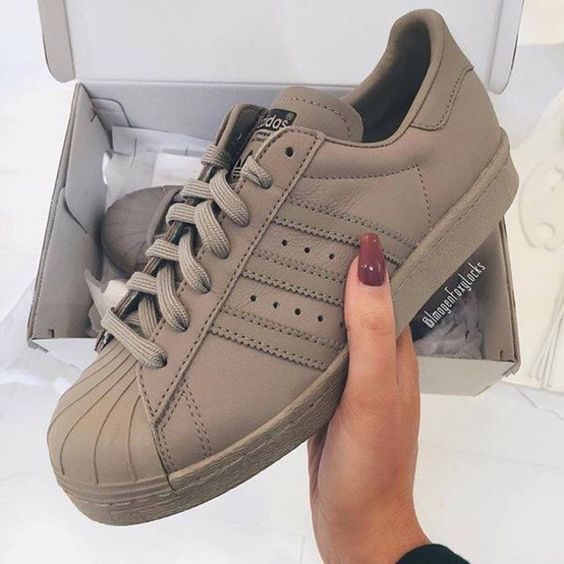 khaki adidas shoes