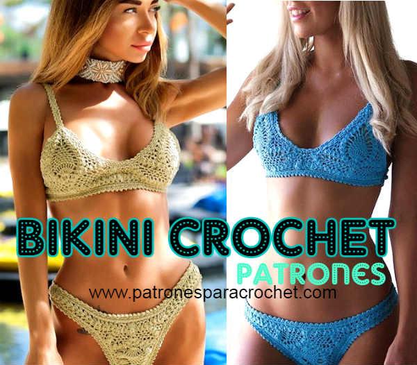 patrones-bikini-crochet-punto-piña