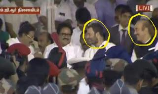 Rahul caught smiling at Jayalalithaa Funeral
