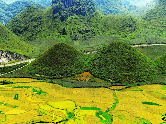 The Charming Beauty Of Nui Doi (Double Mountain) in Ha Giang