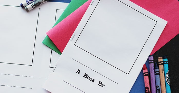 Make Your Own Book for Kids | Free Printable | Sunny Day ...