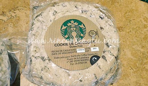 cookie sin gluten en starbucks