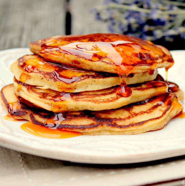 apple cider buttermilk pancakes recipe