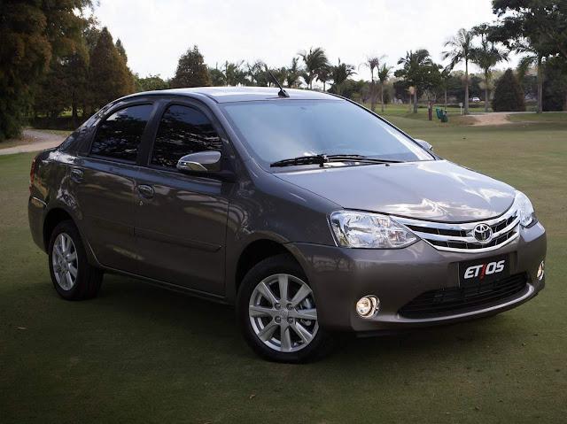 Toyota Etios Automático x Nissan Versa CVT