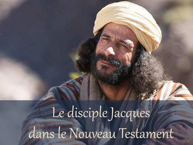 Les apôtres Jacques dans le Nouveau Testament