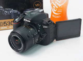 Jual Nikon D5300 Wi-Fi ( Fullset )