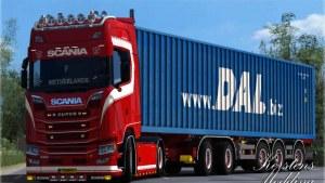 Scania S A&G Groeneveld Skin