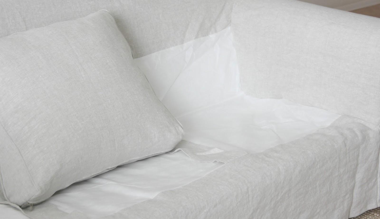 belgian linen sofa tiny sofas my ektorp get a luxurious ikea hack from bemz