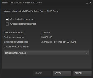 PES 2017 DEMO Full Version Gratis FOR PC