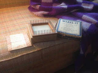 Weave-It wooden loom and original box