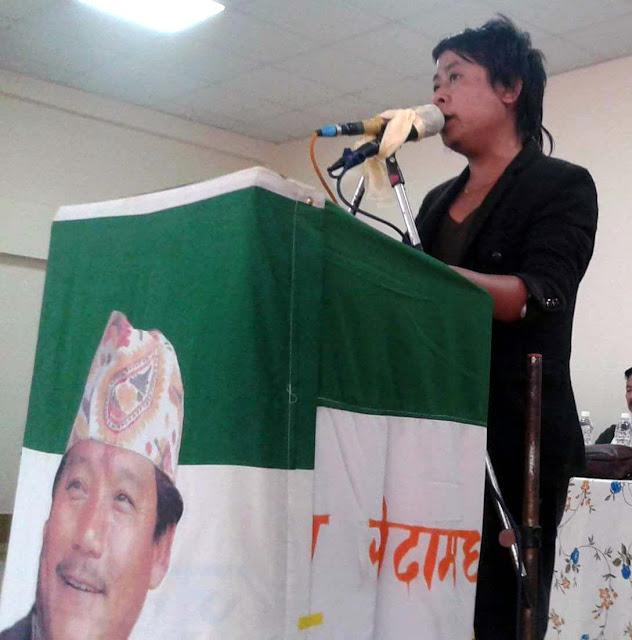 Anmol Thapa Gorkha Janmukti Vidharthi Morcha Secretery