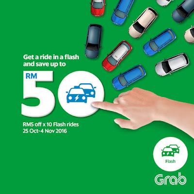 Grab Malaysia Rides Flash GrabCar Budget Taxi