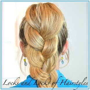 Puff Braid Ponytail