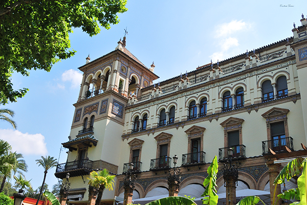 hotel alfonso xiii seville spain sevilla españa