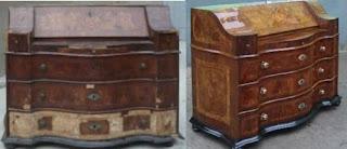 ejemplo de restauración de mueble clásico