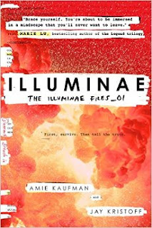 Illuminae by Amie Kaufman and Jay Kristoff book one in the Illuminae Files sci-fi